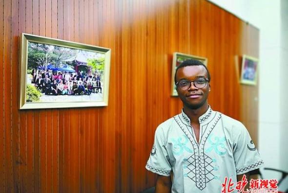 在京非洲留学生看中非论坛,他们眼中的两国关系是这样